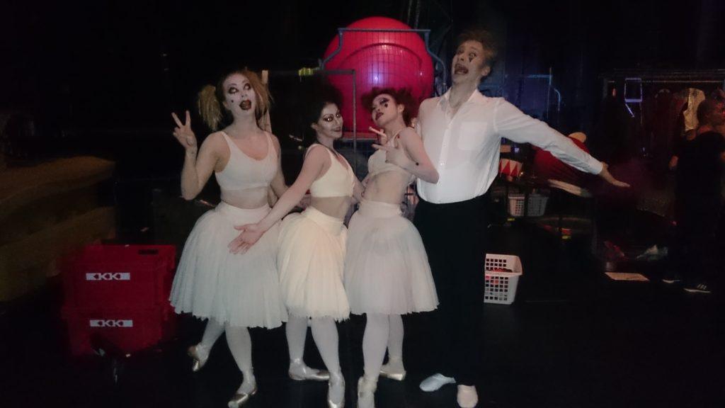 Ballet Finland Circopera Horrorrinas