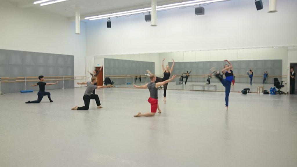 Ballet Finland Circopera Saliharjoitukset