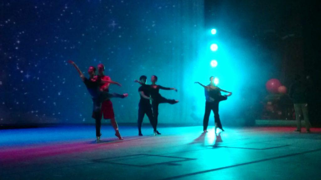 Ballet Finland Circopera Näyttämöharjoitukset